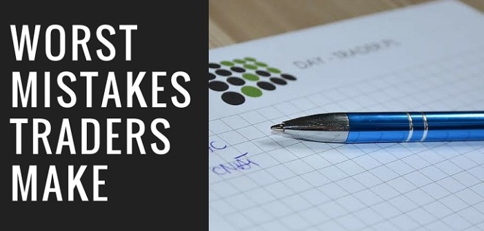 Mistakes Beginner Traders Make
