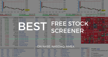 Free stock screeners