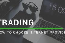 Internet provider for trading